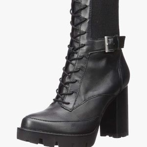 """NWOT Charles David """"Gimmick"""" lace up boot 9.5"""
